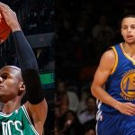 ray allen give top props to steph curry
