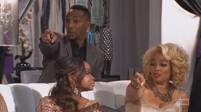 real housewives of atlanta reunion 3 kim fields chrissy point out kenya 2016 images