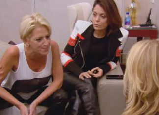 real housewives of new york 802 dorinda gets hot for an intimates affair 2016 images