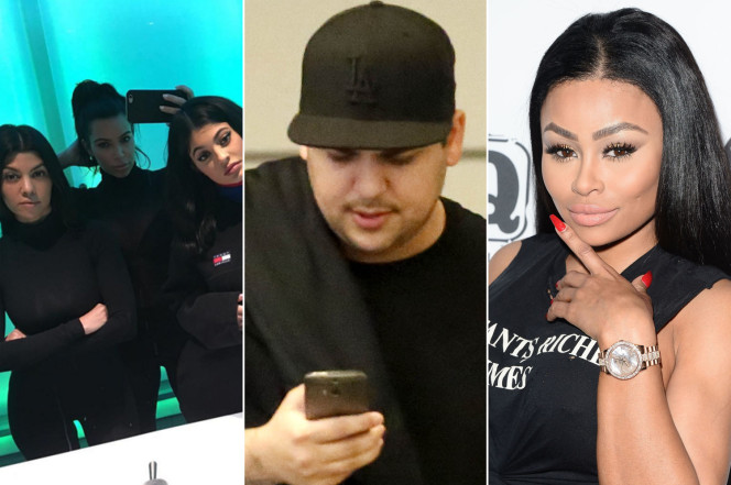 rob kardashian blac chyna engagement no joke to family 2016 gossip
