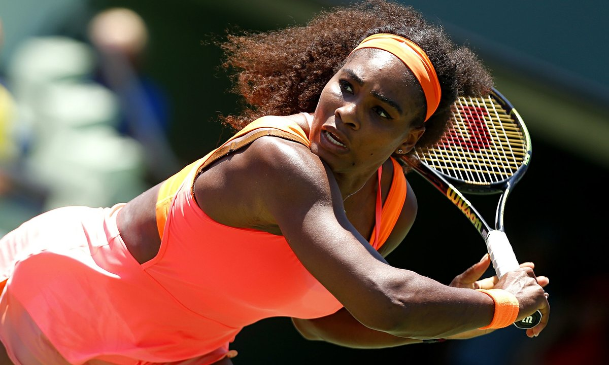 serena williams withdraws from wta madrid 2016 images
