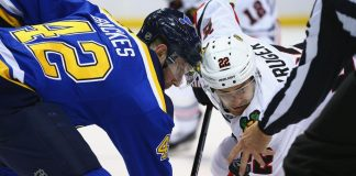 st louis blues defeat chicago blackhawks 3-2 with schwartz and berglund 2016 images