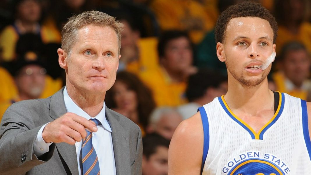 steve kerr coach of the year despite steph curry blunder 2016 images