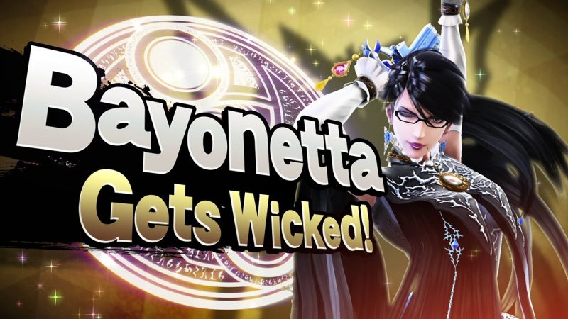 super smash bros 4 bayonetta wicked