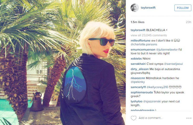 taylor swift bleachella 2016 gossip