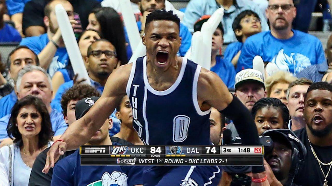 Oklahoma City Thunder up 119-108 win against Dallas Mavericks