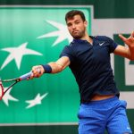2016 French Open Marin Cilic and Grigor Dimitrov Outted images