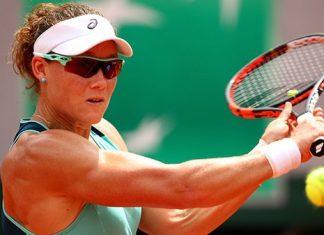 2016 french open sam stosur and tsvetana pironkova muscle through tennis images