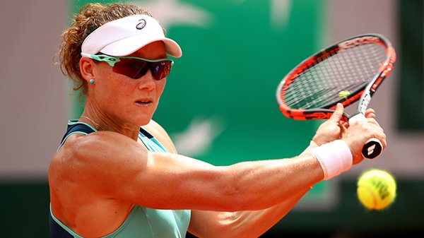 2016 french open sam stosur and tsvetana pironkova muscle through tennis images