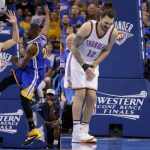 After Draymond Green second groin kick Steven Adams investing in iron clad cup