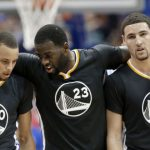 Draymond Green and Klay Thompson hold down Warriors in Steph Curry's absence