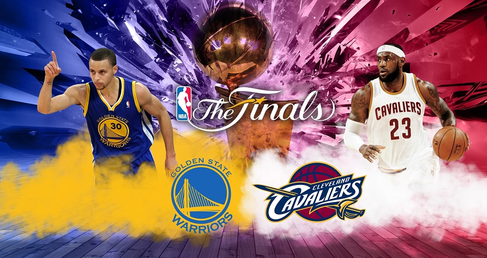 Golden State Warriors vs Cleveland Cavaliers 2016 NBA ...