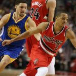 Klay Thompson leads Warriors to beat Blazers 110-99 for 2-0 lead