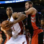 Miami Heat beat Toronto Raptors 102-96 Game 1 Eastern Conference semifinals