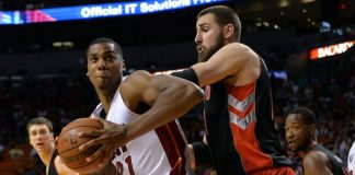 Miami Heat beat Toronto Raptors 102-96 Game 1 Eastern Conference semifinals 2016 images