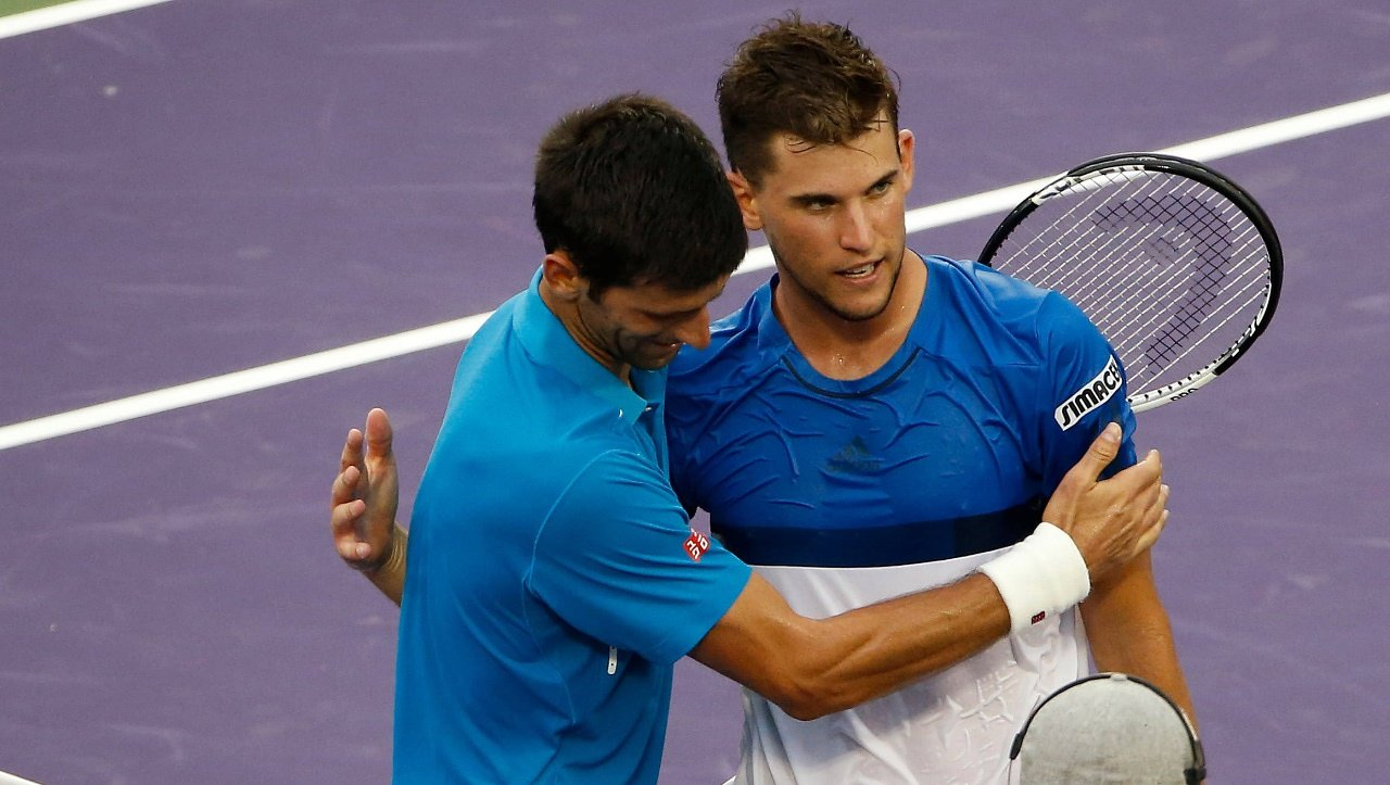 Novak Djokovic, Dominic Thiem – Draw Improves at 2016 French Open tennis images