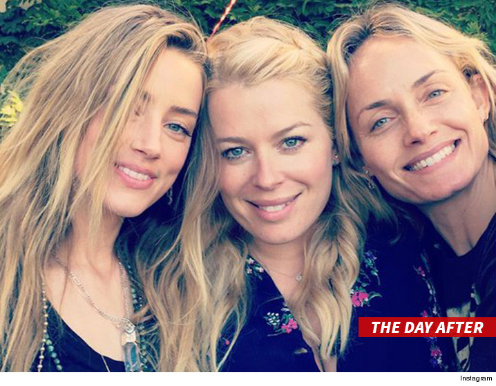 amber heard the day after johnny depp hit