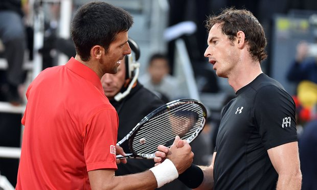 andy murray beats novak djokovic for rome masters title 2016 images