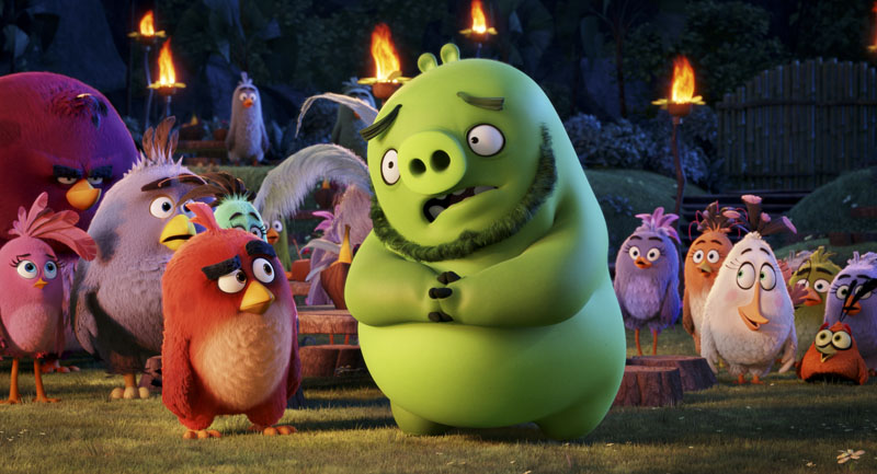 angry birds top box office weekend