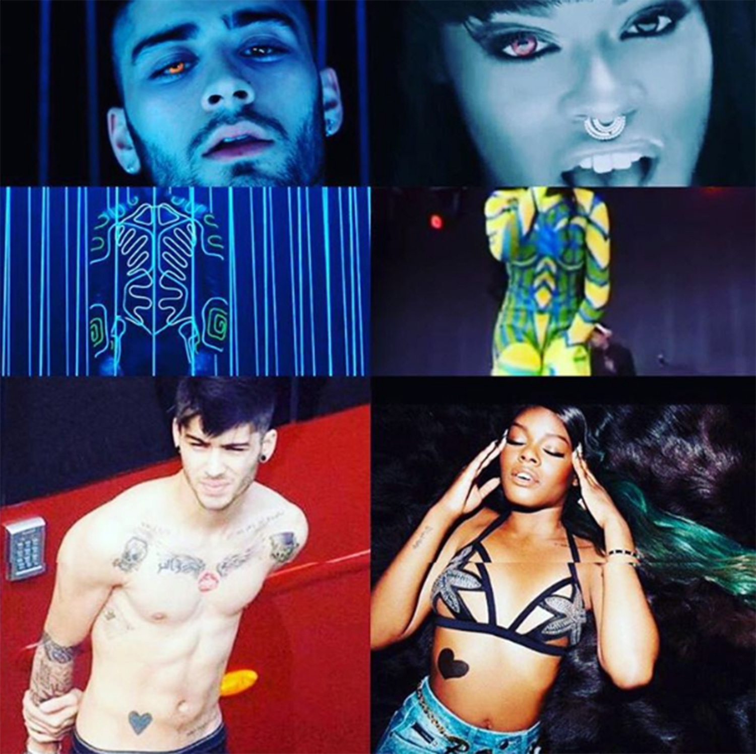 azealia banks removed after zayn malik comments 2016 gossip