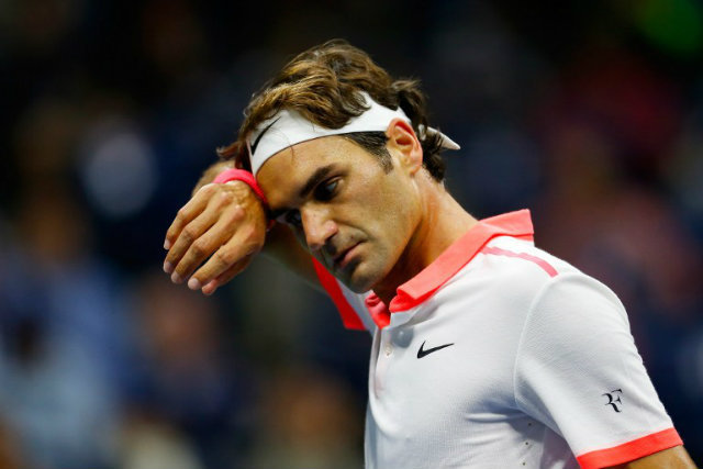 back injury forces roger federer to withdraw from 2016 madrid masters tennis images