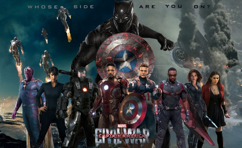 captain america civil war cast 2016