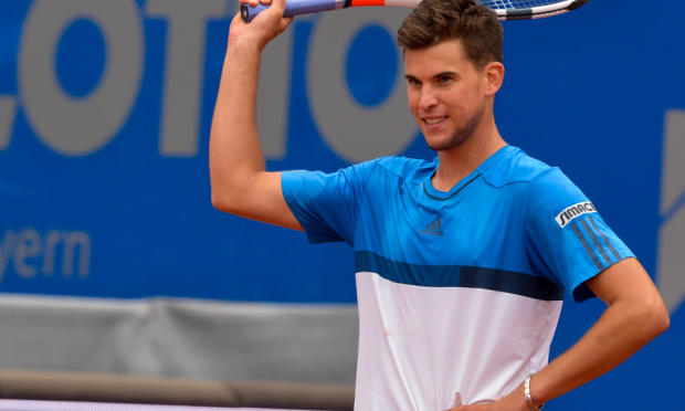 dominic thiem gearing up for rafael nadal french open