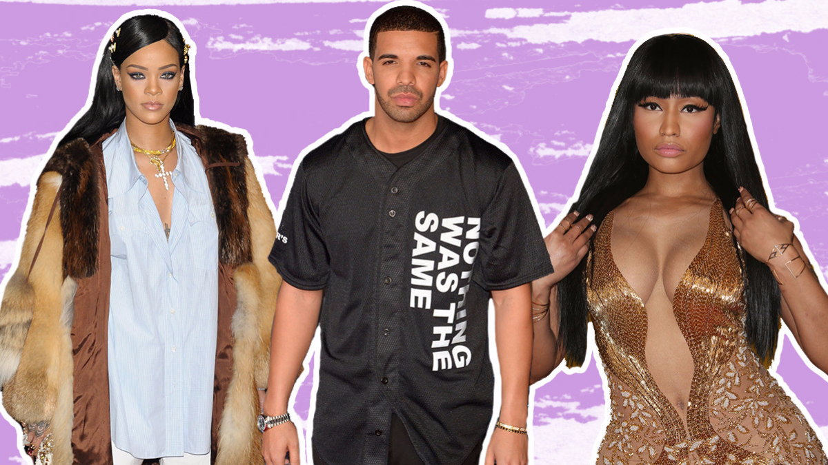 drake opens on rihanna and nicki minaj 2016 gossip