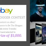 eBay 'Be the Blogger' first winner announced