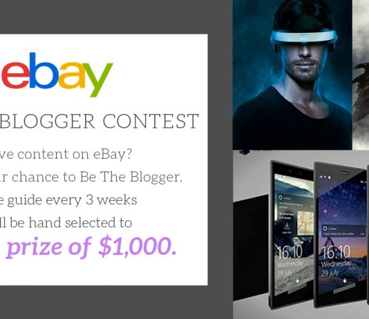 eBay 'Be the Blogger' first winner announced 2016 images