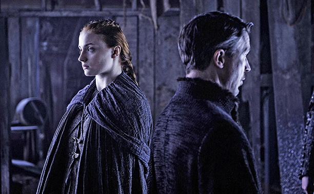 game of thrones 605 door sansa with uncle