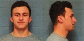 johnny manziel booked, bonded and released 2016 images