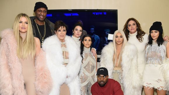 keeping up with the kardashians kanye west fashion show
