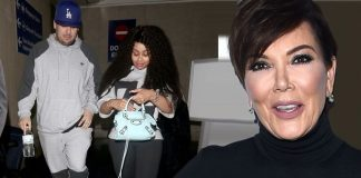 kris jenner find with blac chyna 2016 images