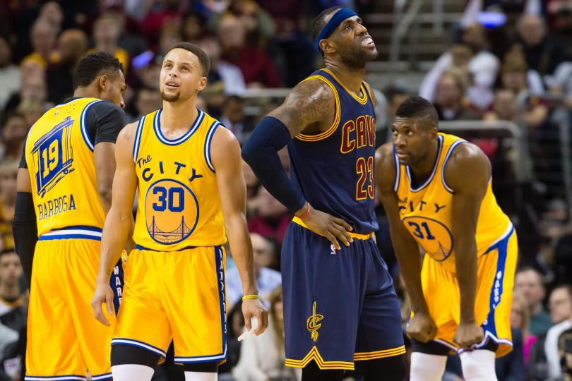 lebron james backhanded stephen curry nba mvp comment 2016 images