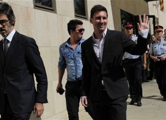 lionel messi ready for day in court 2016 images