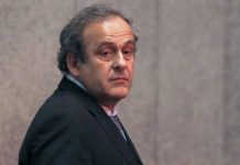 michel platini resigning from uefa due to ban 2016 images