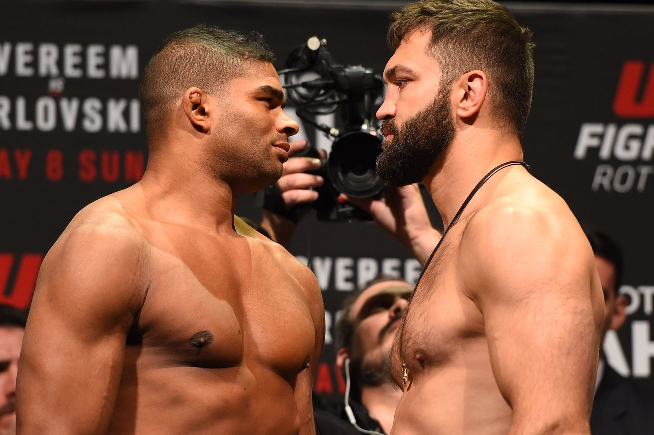 mma weekly overeem takes out arlovski and struve vs bigfoot silva 2016 images