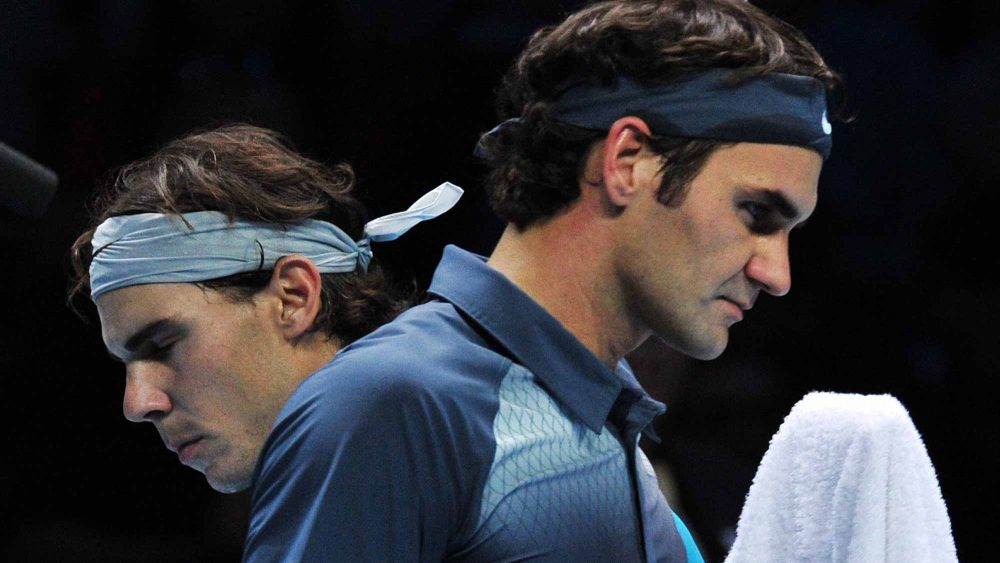 rafael nadal and roger federer collision course at madrid masters