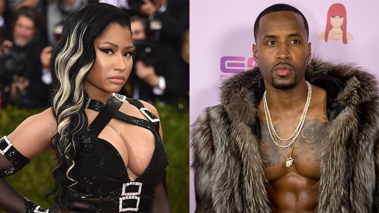 nicki minaj can't escape safaree samuels grip 2016 gossip