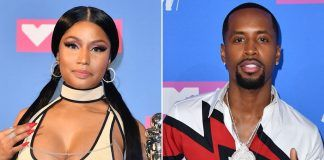 nicki minaj with safaree samuels stabbing