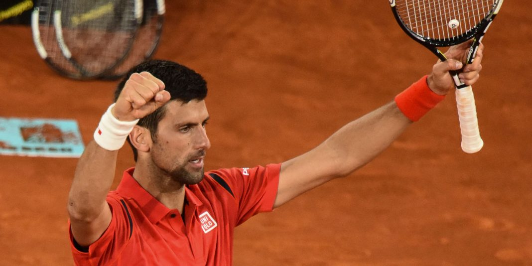 novak djokovic takes out andy murray for madrid open title 2016 images