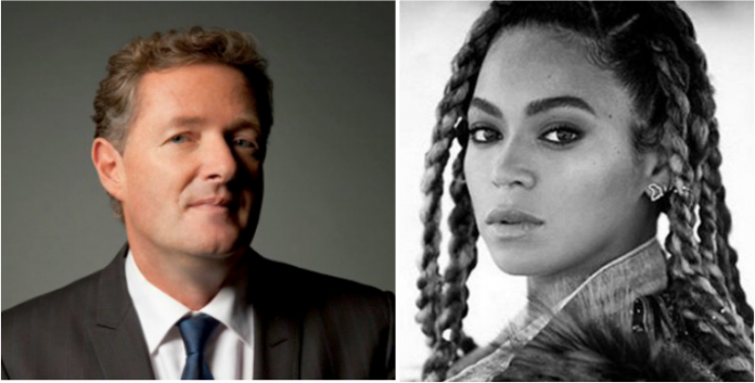 piers morgan vs new beyonce