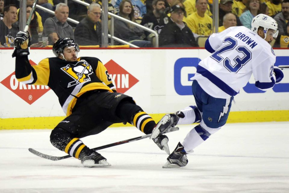 pittsburgh penguins take lead in eastern conference finals with lightning win 2016 images