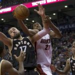 raptors cant hold off the heat images