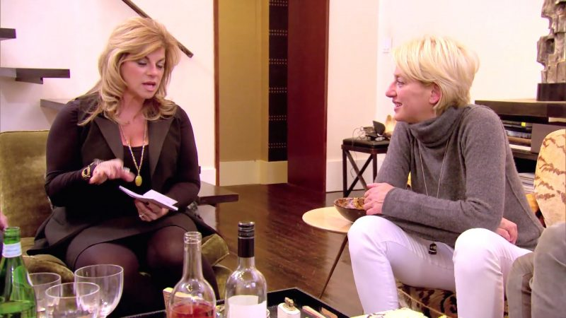 real housewives of new york 506 psychic session 2016