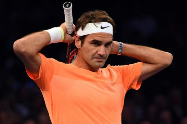 roger federer steps out of french open 2016 images