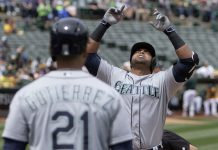 seattle mariners tops in mlb american league west 2016 images