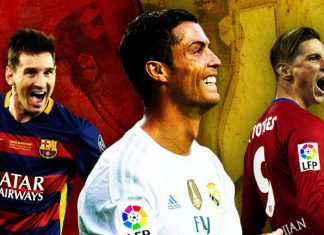 spanish clubs expect barcelona, real madrid or atletico madrid to win la liga title 2016 images