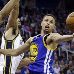Stephen Curry is back as Warriors beat Blazers 132-125